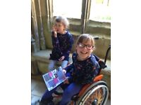 4 Hours/Week: Help Required for Lively 10-Year Old Girl in Wheelchair