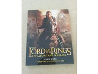 The Lord of the Rings Weapons and Warfare book by Chris Smith excellent condition