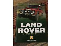 Land Rover Simply the Best hardback book