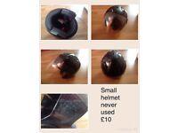 Motor bike helmet small adult