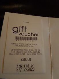 Nathans gift voucher