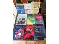 SOCIAL WORK BOOKS OPEN TO OFFERS
