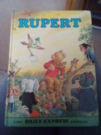Rupert bear annual 1972