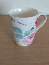 Cath Kidston British Designer Bee Mine Mug New