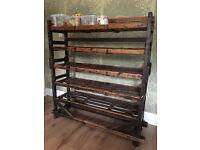 Vintage Industrial Retail Shelving Shoe Rack