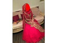 Asian Red Wedding Dress