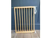 Mothercare wooden baby's gate