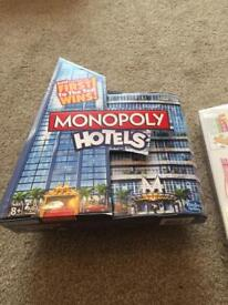 Brand new Monopoly hotels