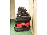 6 USED SUITCASES fOR £15