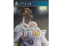 Selling fifa 18 for playstation 4