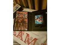 Sega mega drive games boxed