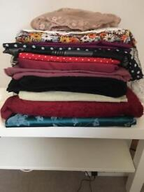 Selection of fabric £10