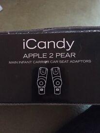 ICandy Apple 2 Pair Car Seat adaptors