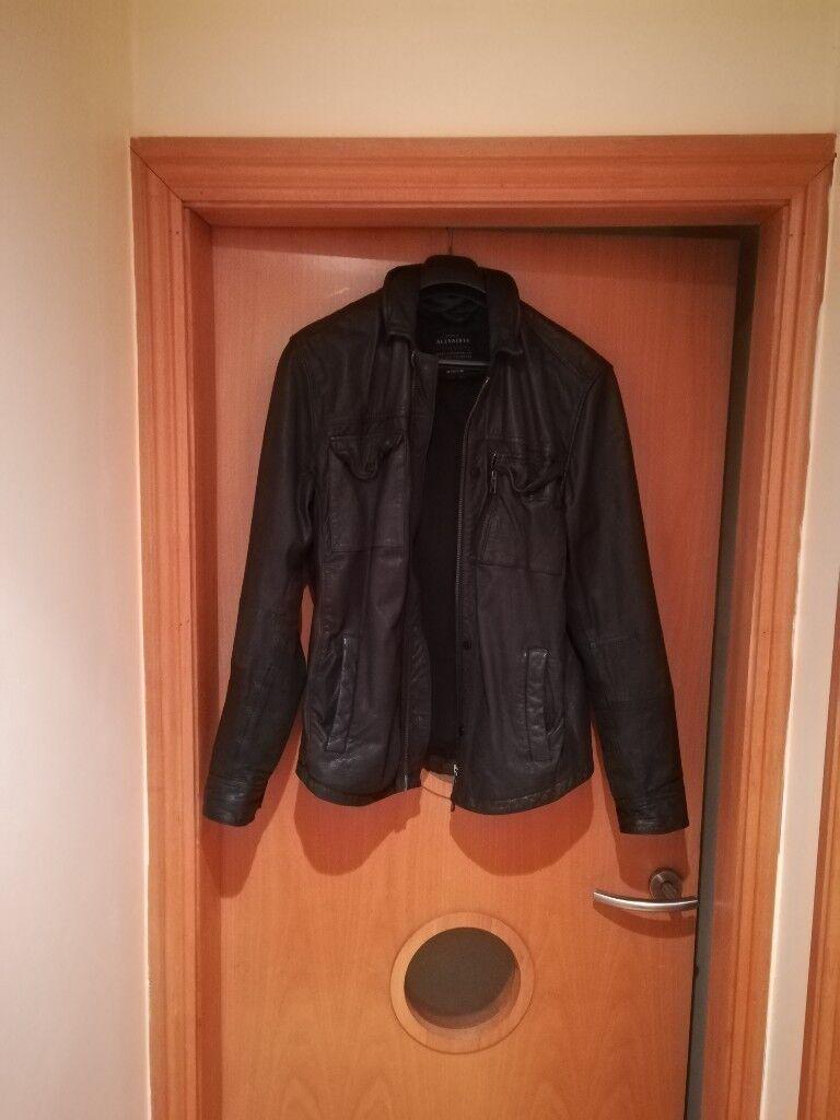 All Saints stylish leather jacket