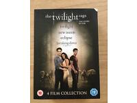 The Twilight Complete Saga - all 5 discs