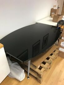 Black meeting room table for sale