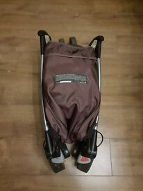 Quinny Zapp pushchair with original footmoof and raincover. Great condition!