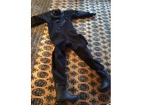 Ladies scuba dry suit as new