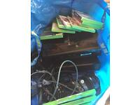 Xbox 360 and PS3 bundle with 18 games
