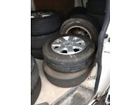"VW T5 ALLOYS, LOAD RATED TYRES 16"" 17"" 20"" CHOICE plus CHEAP STEEL TRANSPORTER RIMS"
