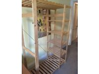 Clothes Hanger with Shelving for Free