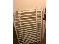 White Ikea Cotbed & Mattress