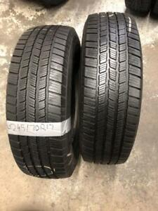 LT245/70R17 MICHELIN 10 PLY TIRES (PAIR) Calgary Alberta Preview