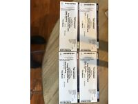 4 tickets to The Lumineers Face Value