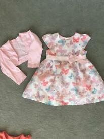 Girls Party Dress Age 12-18 Months
