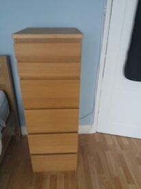 Ikea chest of draws Tall 6 draw