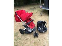 Quinny Buzz Xtra Pushchair with Maxi-Cosi