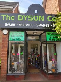 THE DYSON CENTRE: SALES. SERVICING. SPARES. REPAIRS