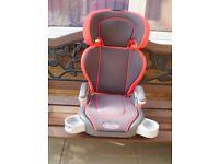 graco car seat 18 kgs to 36 kgs good conditio