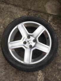 """17"""" Peugeot Alloy Wheels x4 set"""