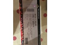 Ticket for Wales Ireland six nations match