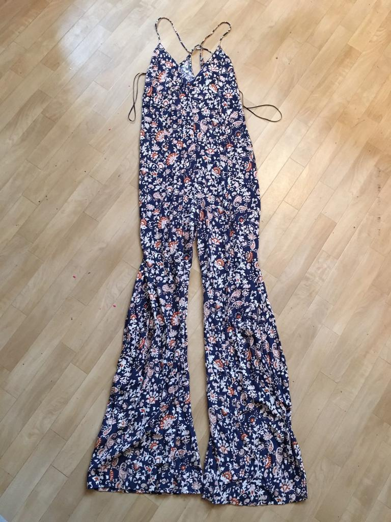 Zara size S(8-10) boho jumpsuit-perfect summer wedding outfit
