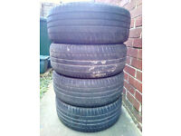 4X 215/55 R16 Michelin Used Tyres