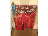 The Amazing Spider-Man #50 - Boxed Canvas Edition – 2013 Signed by Stan Lee