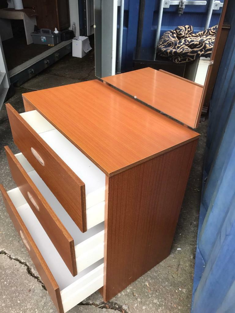 Mirrored dressing chest FREE DELIVERY PLYMOUTH AREA