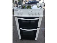 BUSH AE56TCW 50cm ELECTRIC COOKER(second hand) 07951551712/07535853439