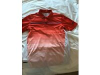 Selection of men's golf t-shirts