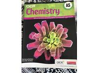 OCR AS Chemistry text book and revision book
