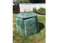 Garden Compost Bin - clean and ready to use