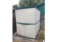 Plastic Hard-wearing Shed 2m x 1.5m