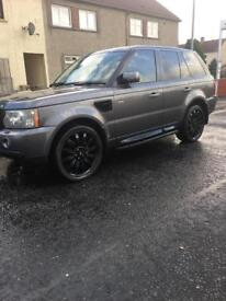 Range Rover sport hse full service history low miles cheap road tax
