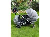 Phil & Teds Voyager double 3 in 1 travel system