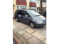 VOLKSWAGEN SHARAN 2.0 TDI SE 2010 10PLATE 3M DUDLEY TAXI PLATE FULL LEATHER