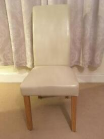 White Dining or Desk Chair