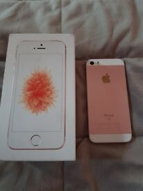 Boxed Iphone Se Rose Gold