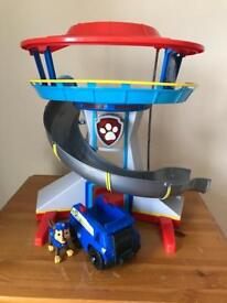 Paw Patrol Lookout Tower & Chase